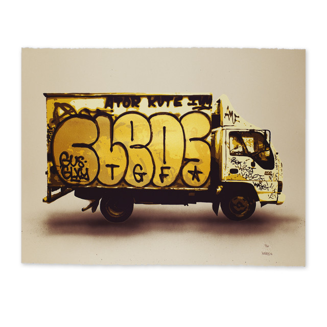 kirpy westside truck screenprint