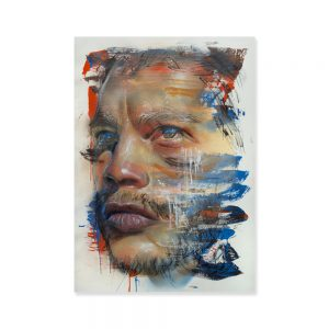 Adnate - Before for the Untold Exhibition. Printed by Dangerfork Print Co.